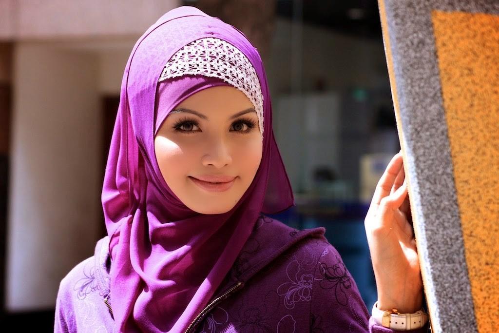 Cara Cantik Memakai Jilbab Pashmina